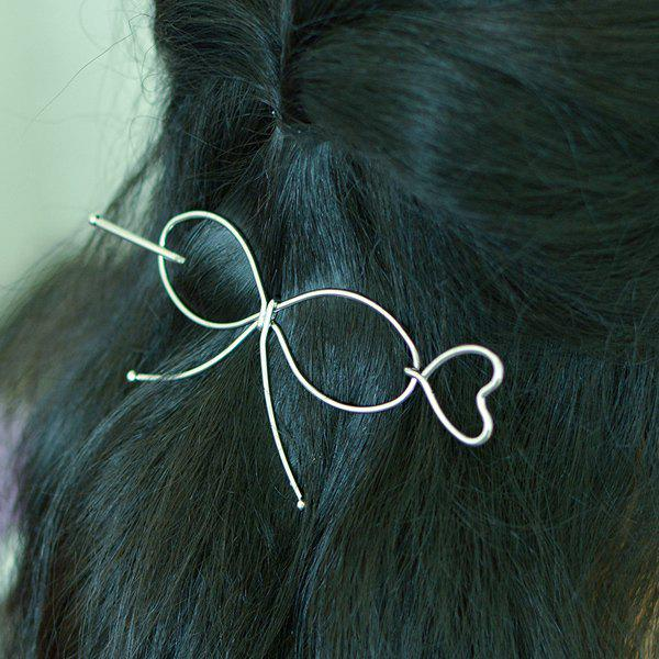 Outfits Alloy Bowknot Heart Hair Accessory
