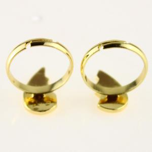 Letter Heart Ring Set -