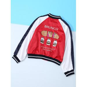Hamburg Appliques Long Sleeve Jacket -