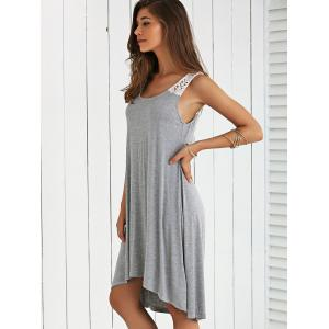 Hollow Out Smock Dress -