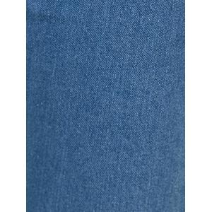 Five-Pocket Ninth Denim Jeans -