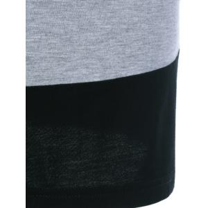 Color Block Comfy T-Shirt -