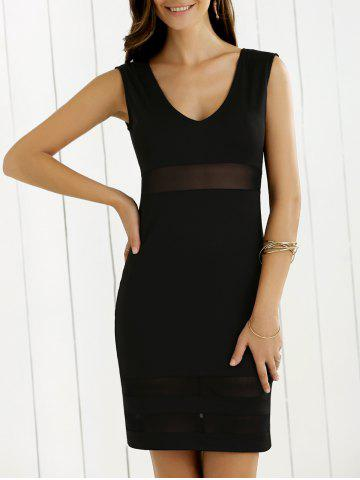 Outfit See-Through Bodycon Dress