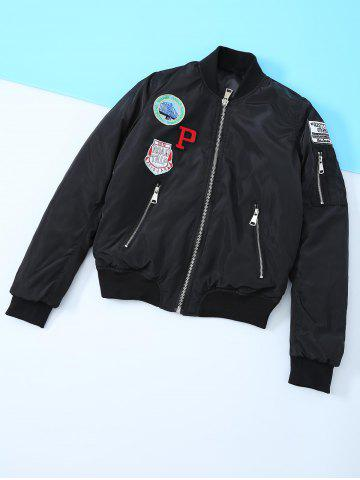 Discount Appliques Embroidered Jacket