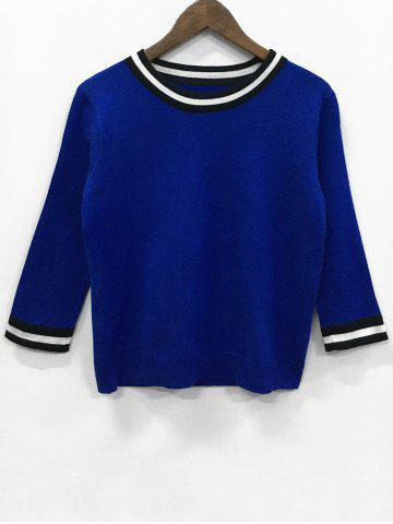 Best Long Sleeve Patchwork Knitwear