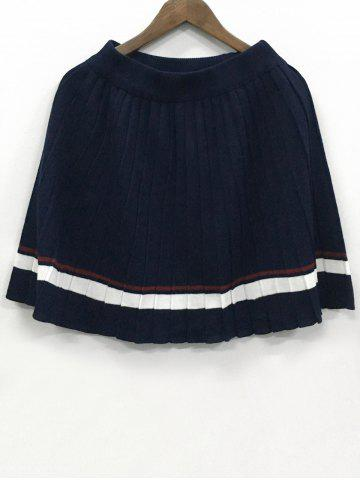 Outfits Elastic Waist Knit Skirt