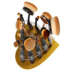 Heart Shape Brush Holder Brush Stand