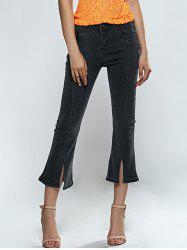 Pocket Design Furcal Slimming Jeans