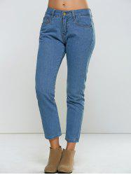 Five-Pocket Ninth Denim Jeans