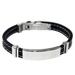 Sewing Edge Rubber Bracelet -
