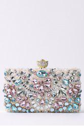 Rhinestone Beading Chains Evening Bag