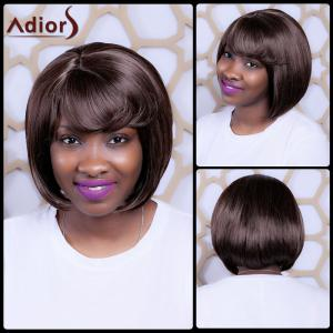 Skilful Short Side Bang Straight Synthetic Capless Wig