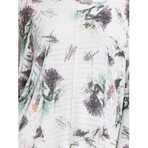 Print Scoop Neck Knitwear -