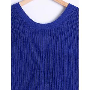 All-Matched High Low Woolen Sweater Vest -