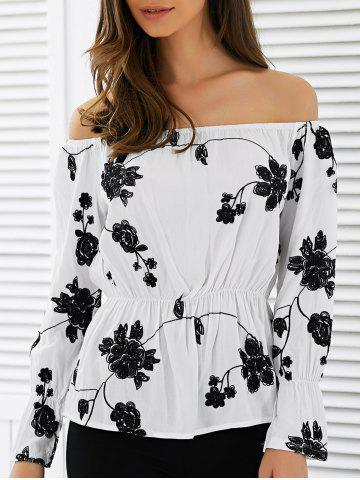 Outfit Elastic Embroidered Blouse