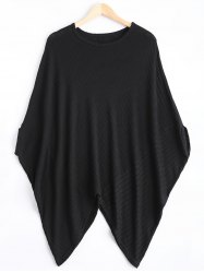 Round Neck Batwing Top