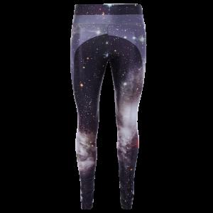 3D Starry Sky Print Skinny Gym Leggings - Colormix - One Size