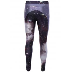 Leggings de gymnase imprimé 3D galaxie -