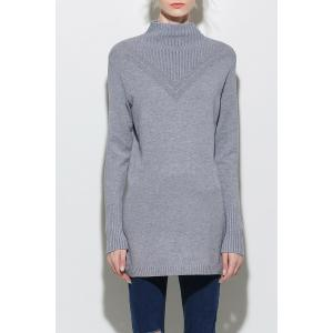 Long Sleeve Cut Out Knitting Dress