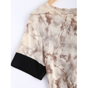 Short Sleeve Tie-Dyed T-Shirt -