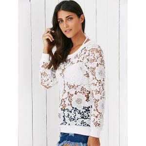Floral Lace Blouse -