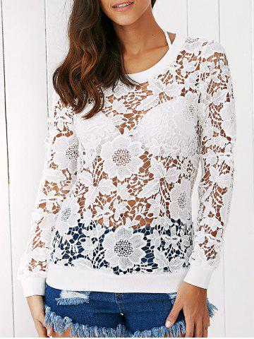 Shop Floral Lace Blouse