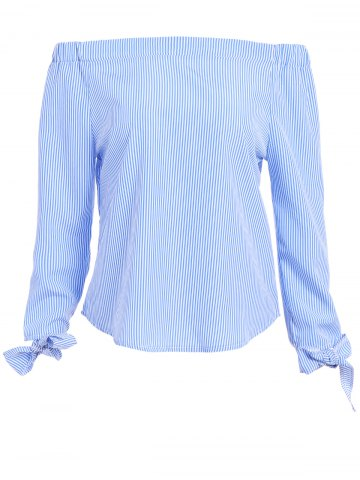 Tie manches Off The Shoulder Top