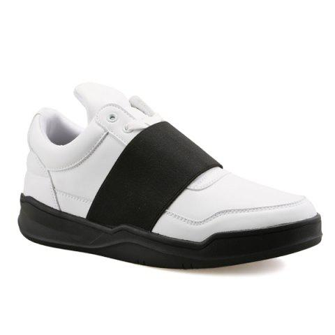 Stitching Leather Casual Shoes