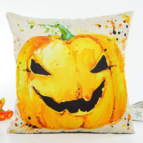 Sale Halloween Pumpkin Printing Design Sofa Cushion Pillow Case