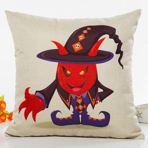 Outfit Halloween Wizard Cartoon Character Sofa Cushion Pillow Case