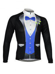 Blazer Pattern Print Zip Up Stand Collar Jacket