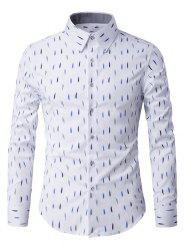 Long Sleeve Anti-Wrinkle Design Printed Shirt