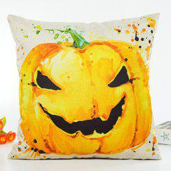 Halloween Pumpkin Printing Design Sofa Cushion Pillow Case -