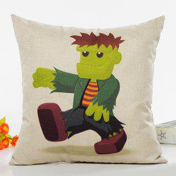Creative Cartoon Character Pattern Sofa Cushion Pillow Case