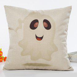 Halloween Plain Ghost Pattern Cartoon Pillow Case