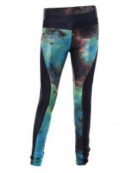 Starry Sky Print 3D Skinny Sporty Leggings
