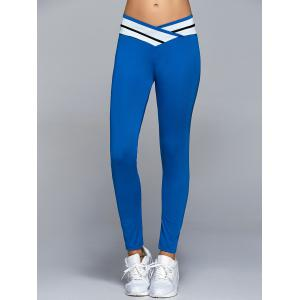 High Waisted Panel Yoga Leggings