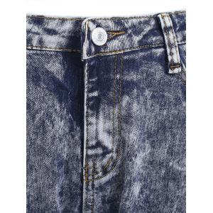 Snow Wash Skinny Jeans - COLORMIX 2XL
