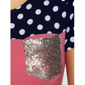 Polka Dot Sequined Tee -
