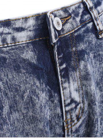 Discount Snow Wash Skinny Jeans - L COLORMIX Mobile