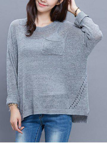 Shop High-Low Baggy Sweater