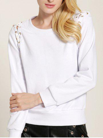 Hot Fit Lace Up Sweatshirt