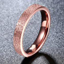 Titanium Steel Adorn Ring -
