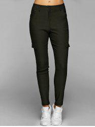 Casual Multiple Pockets Pants -