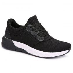 Mesh Tie Up Athletic Shoes -
