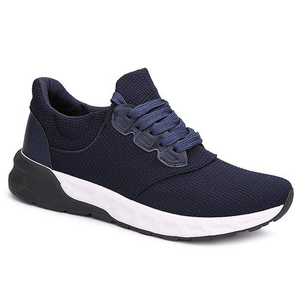 Sale Mesh Tie Up Athletic Shoes