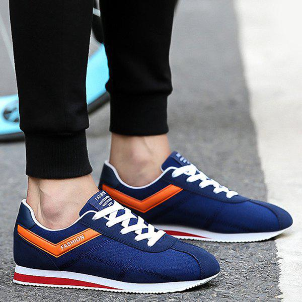 Shops Suede Stitching Athletic Shoes