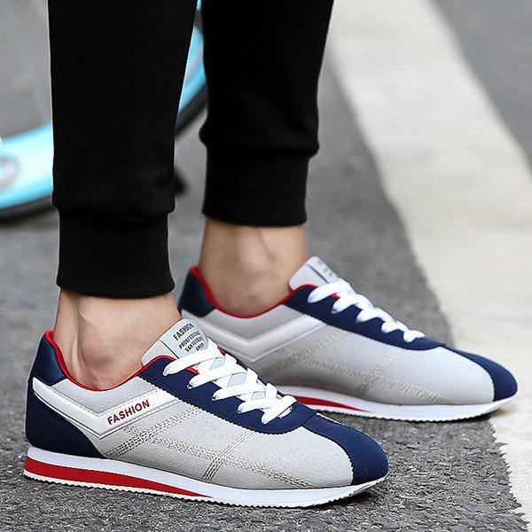 Discount Suede Stitching Athletic Shoes