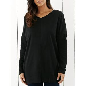 Drop Shoulder Tunic T-Shirt