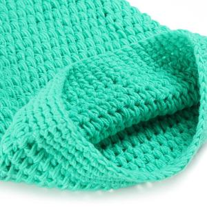 Photography Prop Mermaid Tail Costume Hand Knitted Baby Blankets - LIGHT GREEN